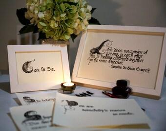 Customized Handwritten Calligraphy