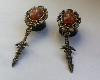 Plugs sword bronze brown