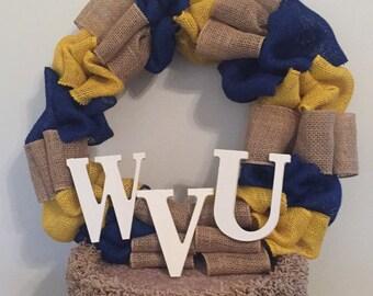 WVU Wreath