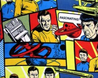 FLEECE Star Trek Fabric