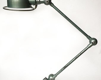 Authentic workshop JIELDE lamp. 1950