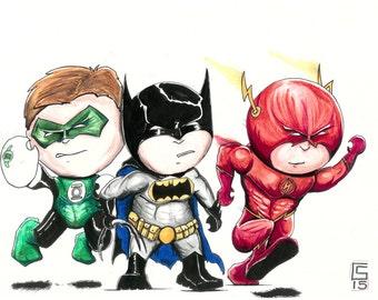 Cartoon DC Characters