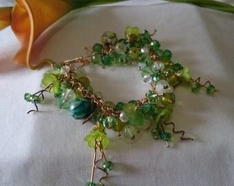 Green Forests - Forest Themed Bracelet