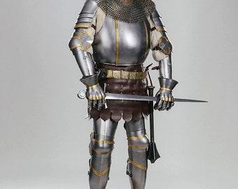 Churburg Armour reconstruction- Battle ready and for reenactment