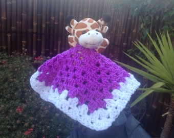 security blanket animal crochet collection