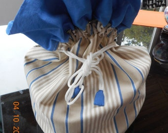 Decorative purse in tissue of the basque country
