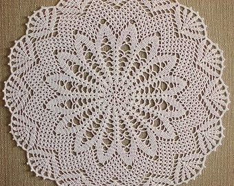 Grand crochet napperon etsy - Napperon dentelle crochet ...