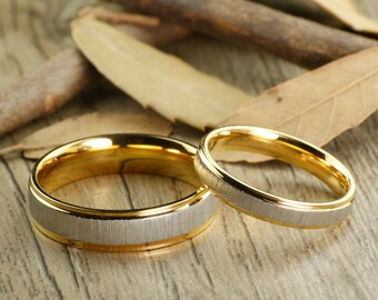 Custom Gifts His And Her Promise Rings