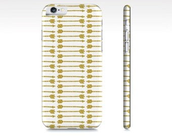 iPhone 6 Case - iPhone 5 Case - Arrow iPhone Case - Gold Arrows iPhone Case - Boho iPhone 6 Case - Tribal iPhone Case - The Mad Case