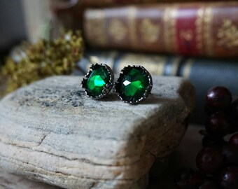 """Earrings """"Green Elf"""""""
