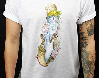 The Buddha - T-Shirt by ThreadLeagues