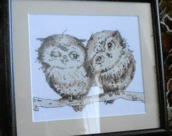 Cross Stitch, owls Inga Palzer