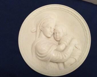 Masterpiece Madonnas Series Plate #1 - Raphael's Madonna