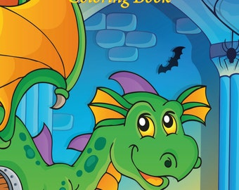 Dragons Coloring Book 1