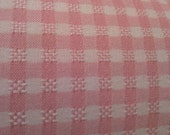 Pink Weave Check Fabric...