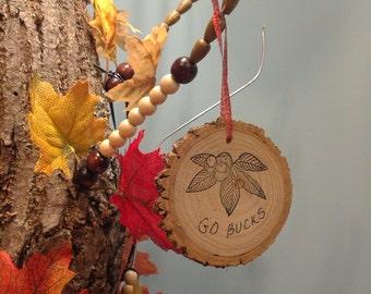Buckeye ornament