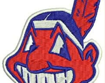 Cleveland Indians Embroidery Design