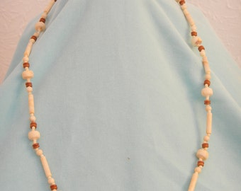 Vintage Necklace of decorative beads