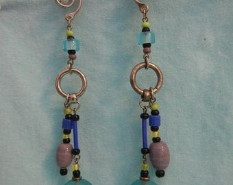 Long Dangling Earrings, Vintage