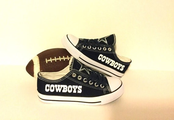 dallas cowboys s athletic shoes by sportzunlimited