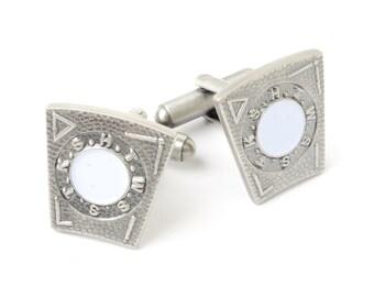 Masonic Mark Degree Keystone Cufflinks