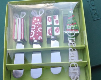 Reduced Sale New Boston Wearhouse Holiday Cheese or Butter Spreaders