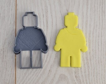 Lego figure cookie cutter (inspired of)