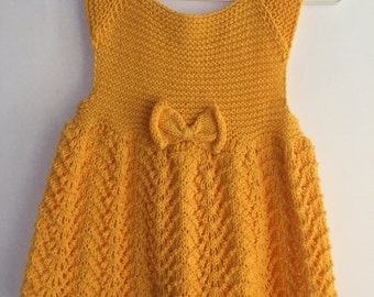 knitted baby clothes, baby shower gifts, baby clothes, knitting dress, knitting baby dress, yellow, green, pink baby clothes, baby gift