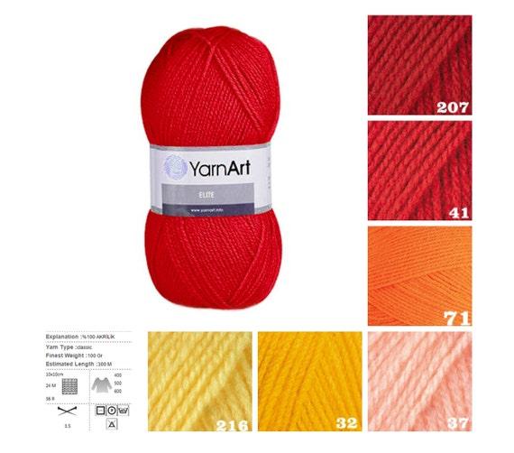 Yarn Supply : knitting supplies, red, orange, yellow pattern yarn, knit acrylic yarn ...