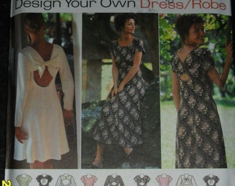 Simplicity Design Your Own Dress/Robe Pattern #9603