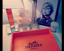 Orange Hermes Tray