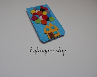 """Cell phone pouch """"Up"""""""