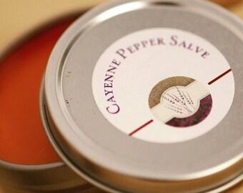 Cayenne Pepper Pain Relief Salve- Deep pain relief salve- Pain Relief Salve- Sore muscle salve- Arthritis pain Salve- Arthritis relief salve