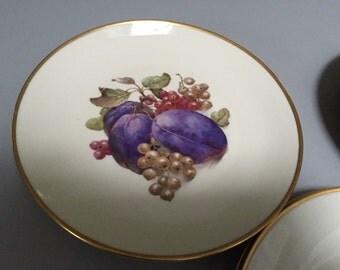 Cake Plates, Salad Plates, Dishes, Eschenbach Bavaria Germany Baronet China, Porcelain
