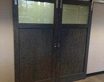 Custom Oak Barn Doors