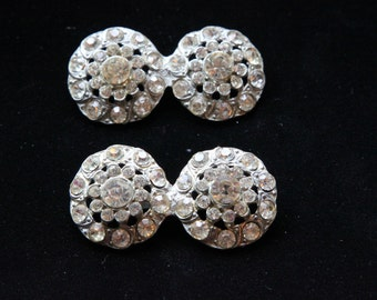 Rhinestone brooch set of 2