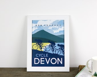 Cycle Devon poster