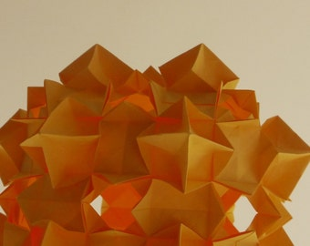 Origami Orange Light