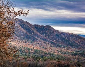 Nature Photography Smoky Mountain Morning Print