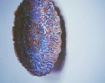 Ceramic oval bowl/ home decor/ pottery