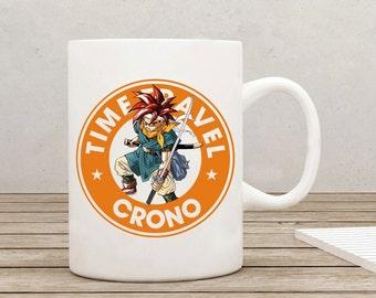 Crono Chrono Trigger Starbucks Gamer RPG Mug