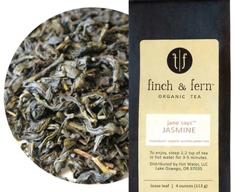 Organic JASMINE Tea | Small (1.5 oz)