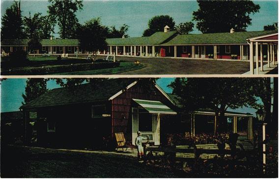 Massena, NY - Stories Village Motel - Postcard