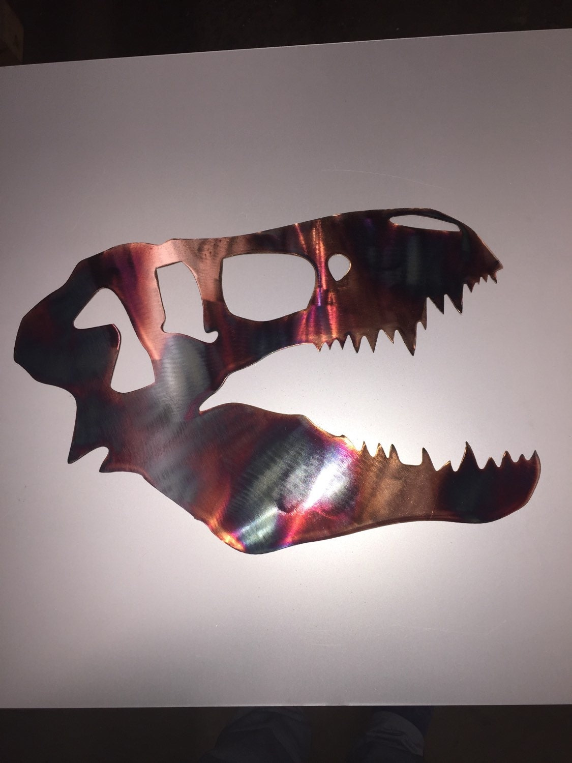 Dinosaur metal wall art nursery decor decoration sign kids for T rex bedroom decor