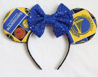 Golden State Warriors Minnie Ears