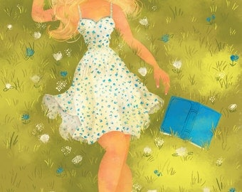 Summer Dreaming - Illustration Print