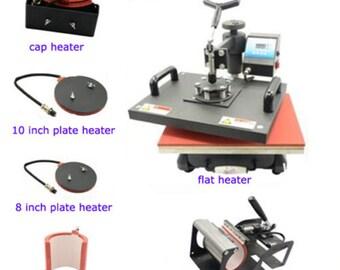 6 IN 1  Heat press