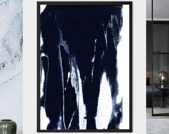 "PRINT of Abstract, Modern Painting | ""Comforte"""