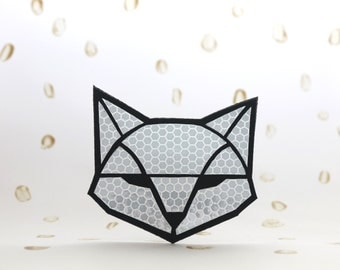 Safety reflector FOX, Handmade in Finland