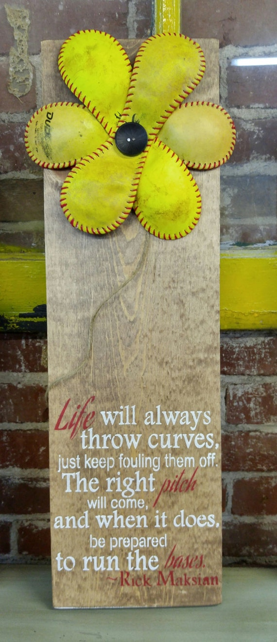 Thepaintedsignco Baseball Room Decor Softball Gifts Softball